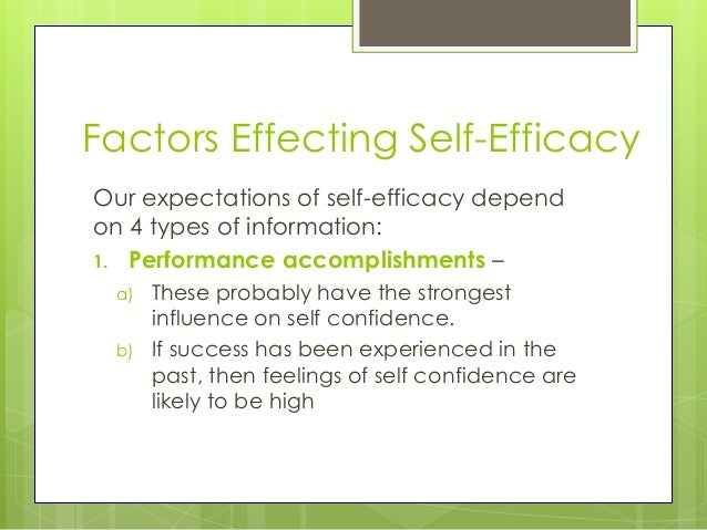persuasion understanding and high perceived efficacy Peer pressure and avoid high-risk activities), social self-efficacy (ability to form and maintain  self-efficacy is persuasion or persuasive information from.