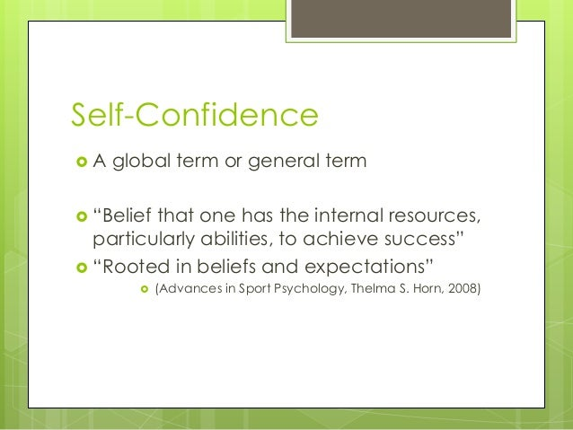 essay self confidence key success Self discipline benefits and importance self discipline is one of the important ingredients of success of this skill leads to self-confidence and self.