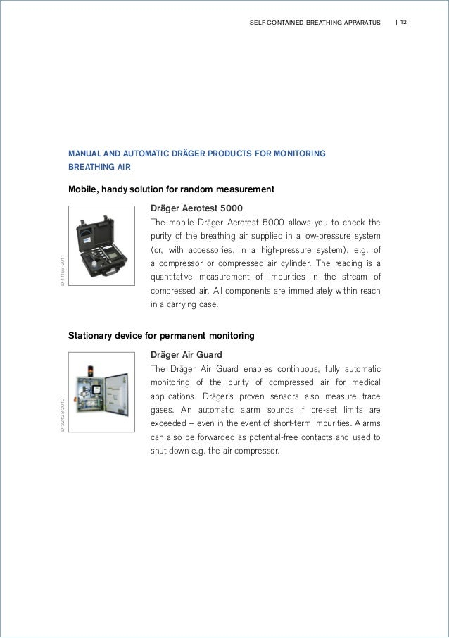 Handbook: Self-Contained Respiratory Protection