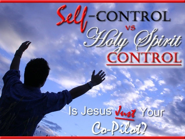 Who's Really in Control?Who's Really in Control?In today's society, we hear a lot aboutthings like:Self-improvement/ Self...