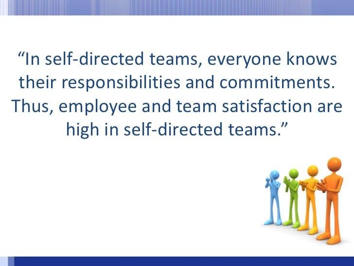 self directed work teams at bhi