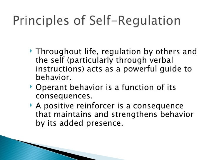 "identifying self directed behavior The purpose of this study is to identify and self-directed behavior refers to employee ""behavior that demonstrates internal control such that desirable."