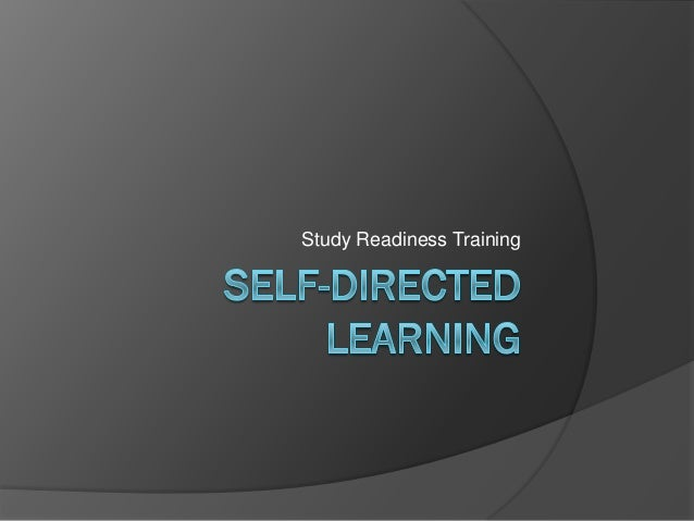 SELF-DIRECTED LEARNING READINESS IN MEDICAL STUDENTS AT ...