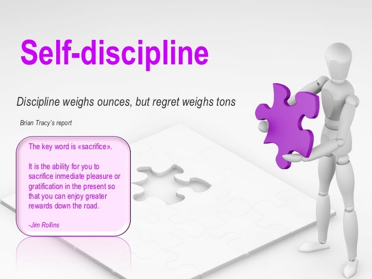 Self discipline brian tracy