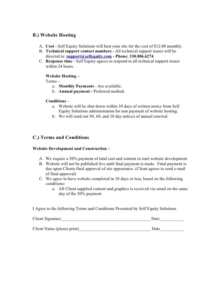 Doc575709 Website Development Agreement Website Development – Website Development Agreement