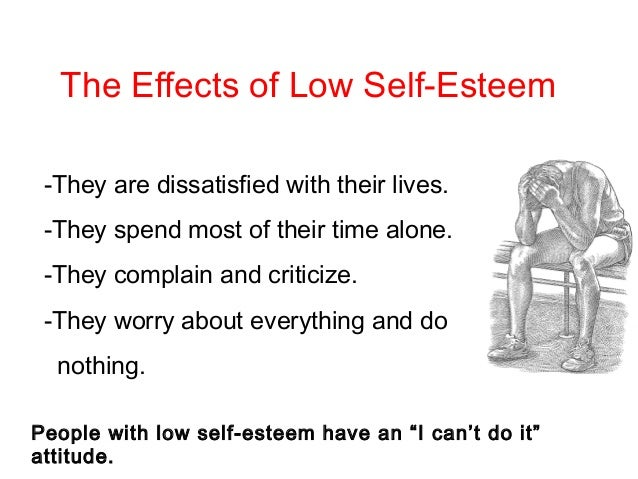 Self Low Do Esteem A I Have