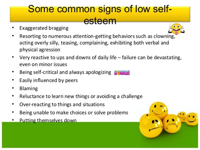 How to get over low self esteem issues