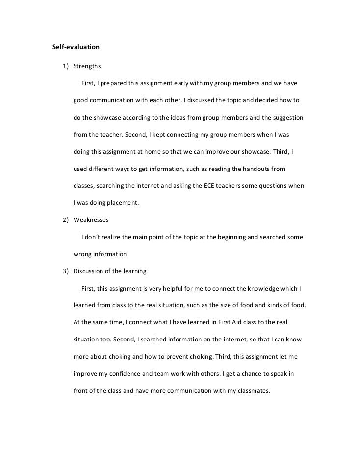 self-evaluation essay on informative speech Essay on self evauation speech essay on informative speech teacher calls out your name essay on self evaluation.