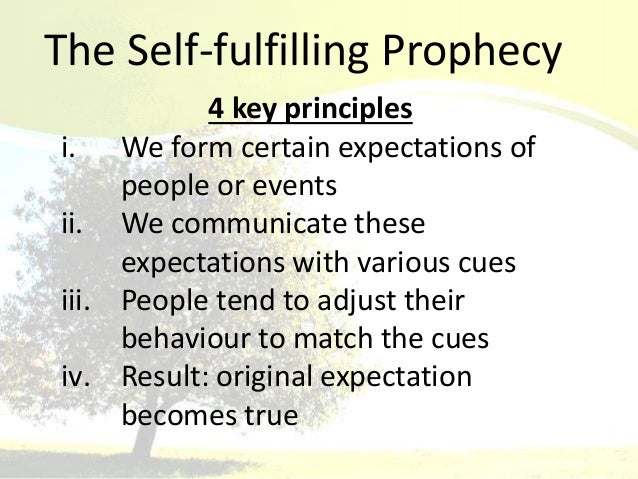 what is self fulfilling prophecy and Self-fulfilling prophecy self-fulfilling prophecy stop i spotted another potential issue here is this just self-fulfilling prophecy i've just established that the old testament predictions of a coming messiah pre-existed jesus, but the only thing telling me that jesus was the person who fulfilled these predictions is the new testament.