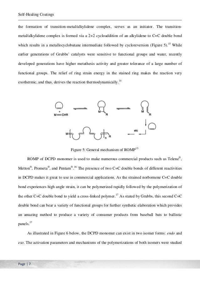 ring opening metathesis reaction Living ring-opening metathesis the polymerization was believed to occur through a ring-opening reaction that originated at the bridgehead carbon both.