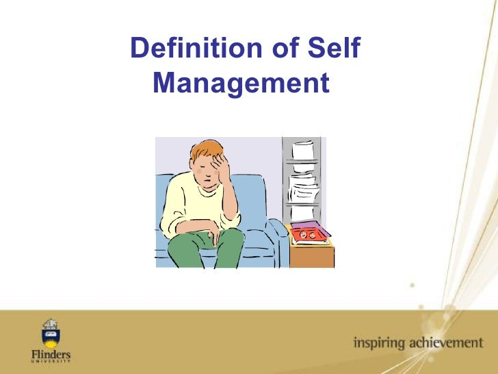 Definition of Self Management