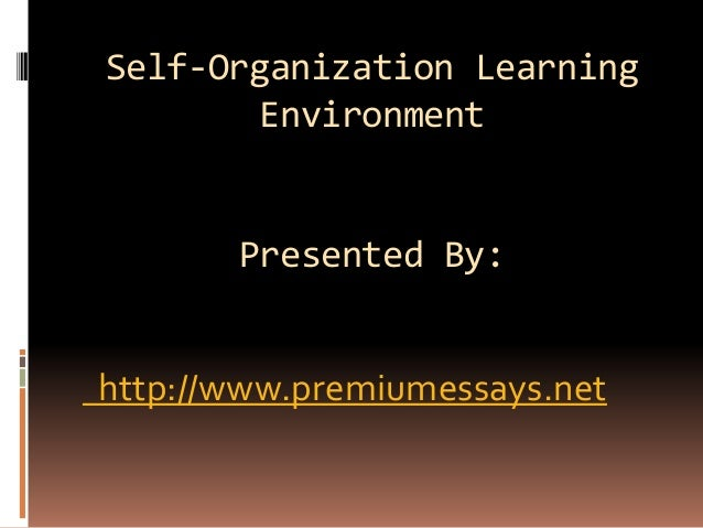 Learning organizations in global environment do