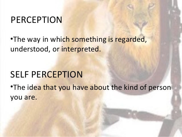 the self and perception In everyday life, people observe other people's actions and behaviors and make inferences about others' attitudes based on what they observe.