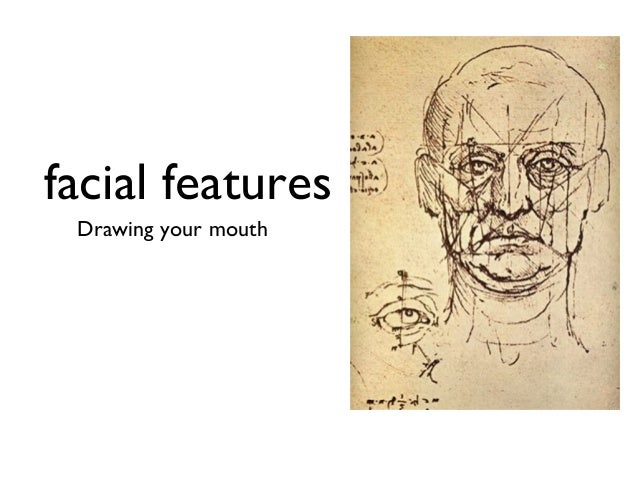 facial features Drawing your mouth