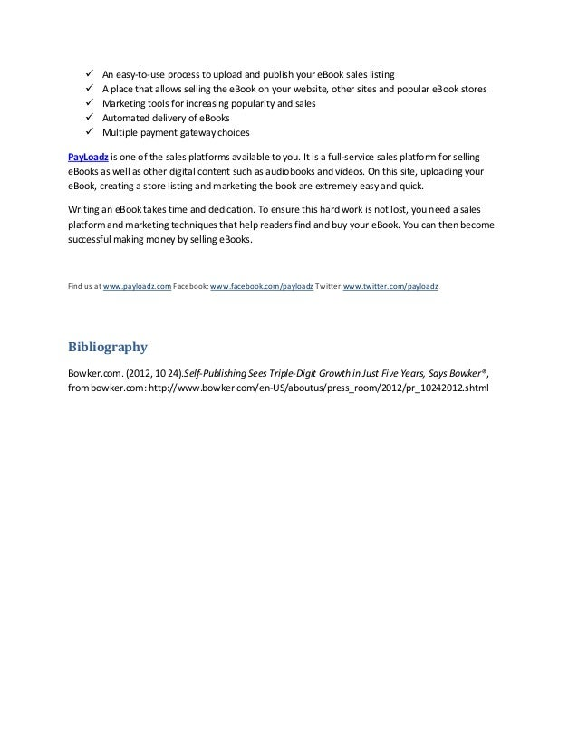White paper self publishing ebooks 7 fandeluxe PDF