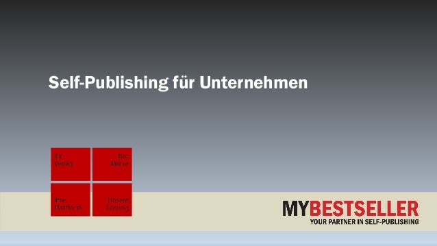 Self-Publishing für Unternehmen