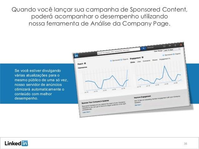 Etapa 4: Adapte suas campanhas para obter eficiência máximaQuando você lançar sua campanha de Sponsored Content, poderá aco...
