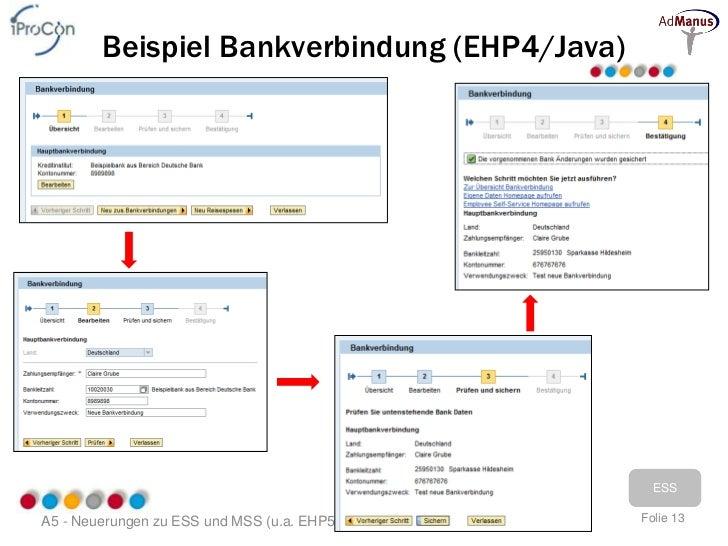 SAP Self Services - Neuerungen zu ESS und MSS (u.a. EhP5)
