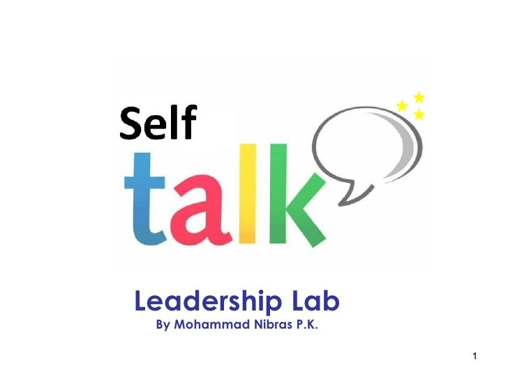Leadership Lab By Mohammad Nibras P.K.