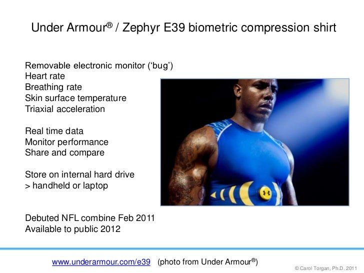 d8afb4f3da Under Armour® / Zephyr E39 biometric compression shirt<br ...