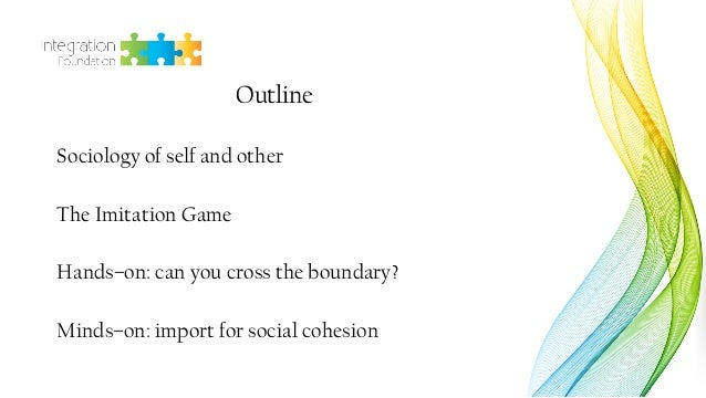 Dr. Daria Bahtina: Self and other: Perception and construction of group boundaries hands-on & minds-on workshop Slide 2