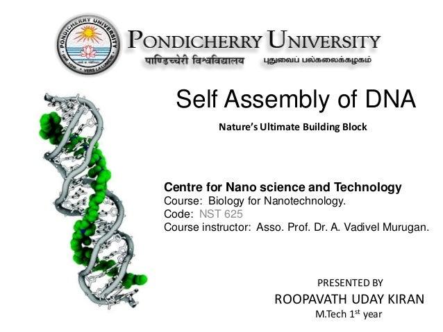 SELF ASSEMBLY IN NANOTECHNOLOGY PDF DOWNLOAD