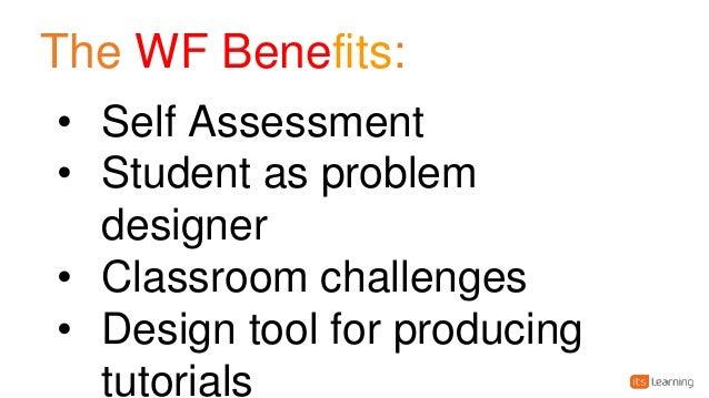 November Learning; 24. The WF Benefits: U2022 Self Assessment U2022 Student ...