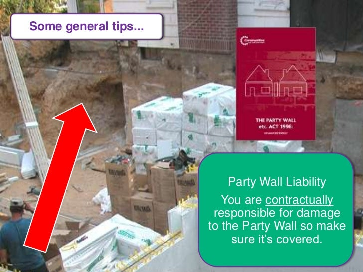 self build zone host site insurance masterclass at On party wall insurance cover