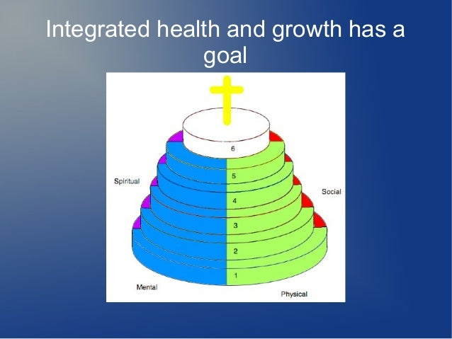 Integrated health and growth has a goal