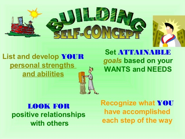 Develop a Healthy Self-Concept