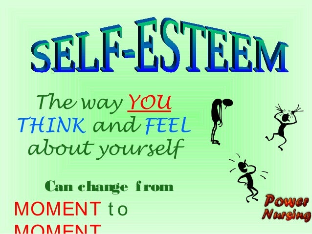 self concept and self esteem