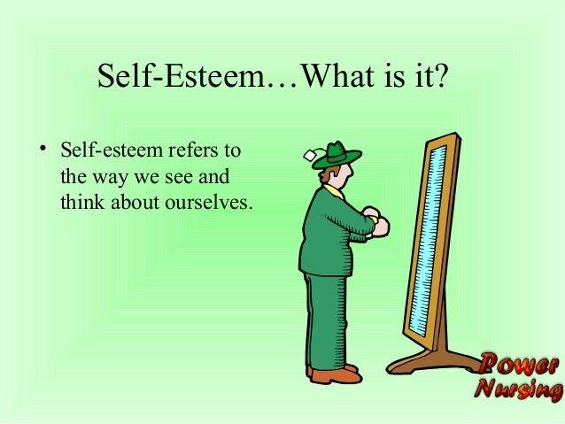 explain the links between identity self image and self esteem