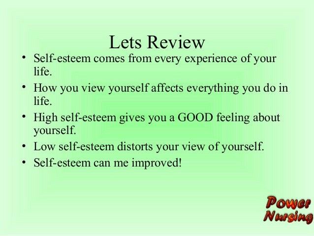 sefl concept and self esteem
