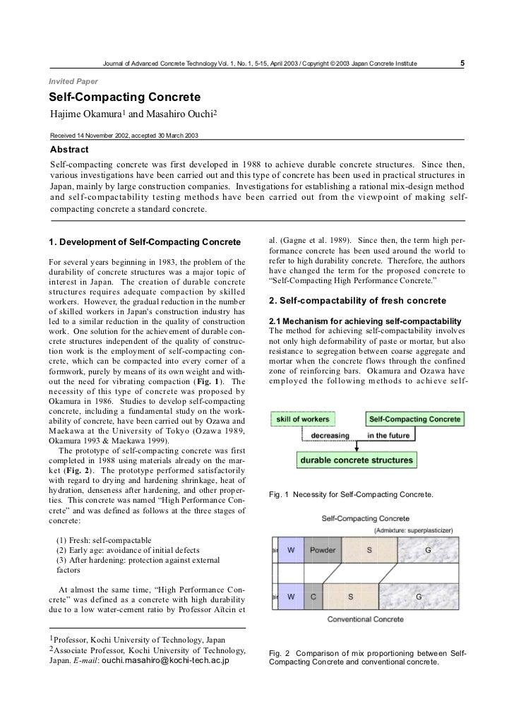 Journal of Advanced Concrete Technology Vol. 1, No. 1, 5-15, April 2003 / Copyright © 2003 Japan Concrete Institute   5Inv...