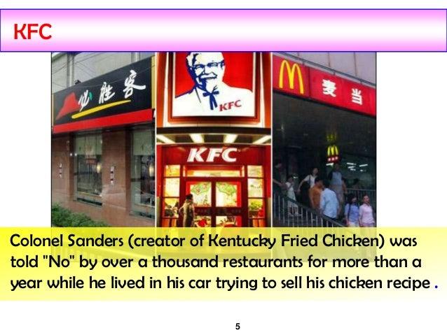 KFC story in India, Kentucky Fried Chicken (KFC)