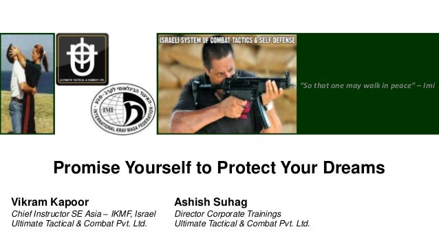 1Copyright © 2013, Ultimate Tactical and Combat Pvt. Ltd. All rights reserved.So that one may walk in peace – ImiPromise Y...