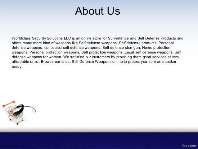 Self Defense Weapons Slide 2