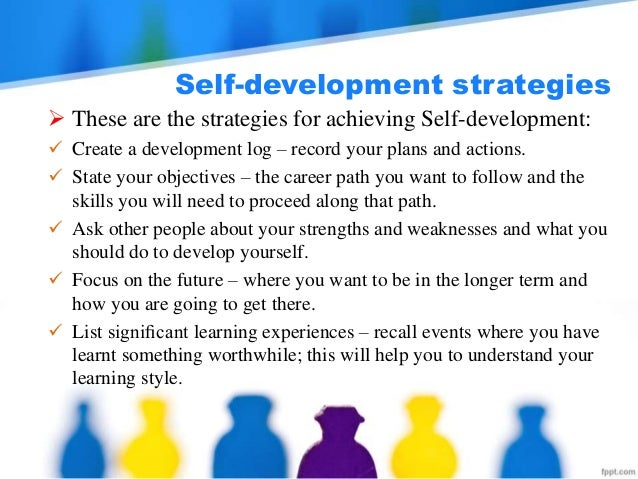 self development objective I like to discuss personal development goals-do you think i have a bad attitudei believe you can all understand a good attitude,probably too well.
