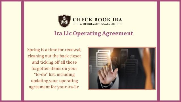 Self Directed Ira Llc Rules Checkbook Ira Llc