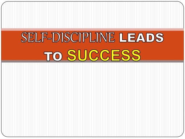 honours dissertation acknowledgements Self-Discipline for Success