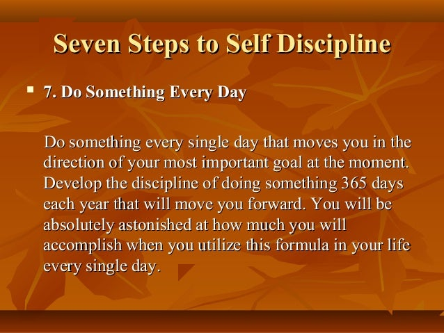 Every Day Do Something That Will Inch: SELF DISCIPLINE FOR SPIRITUAL SUCCESS