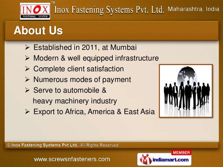 About Us  Established in 2011, at Mumbai  Modern & well equipped infrastructure  Complete client satisfaction  Numerou...