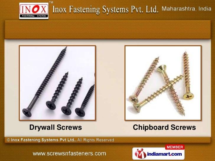 Drywall Screws   Chipboard Screws