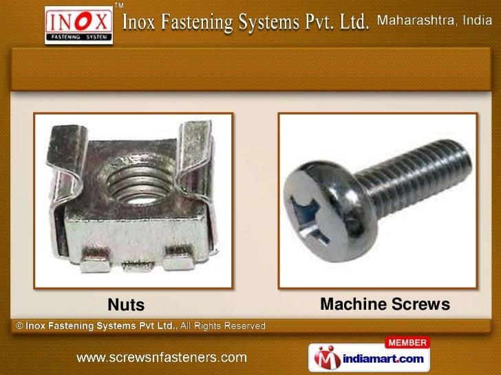 Nuts   Machine Screws