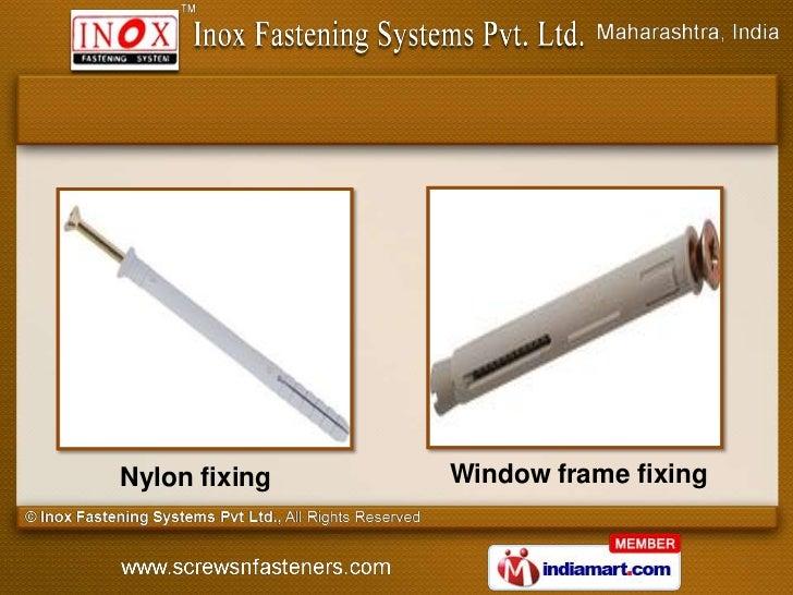 Nylon fixing   Window frame fixing