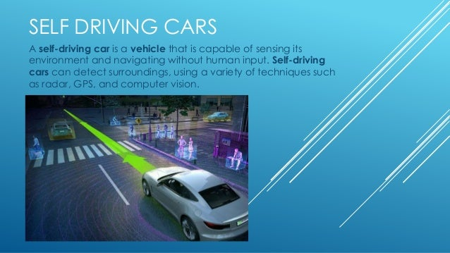Pros Of Self Driving Cars
