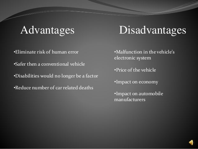 essay advantages disadvantages motor car What are the advantages and disadvantages of in-wheel-drive (or wheel hub motor) in cars, motorbikes, motorcycles, trucks and other vehicles.