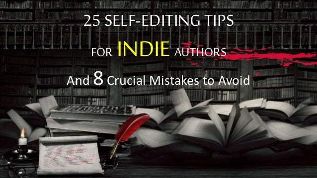 Editing services for indie authors group