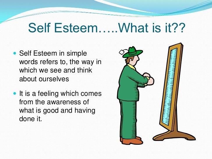 how to fix self esteem