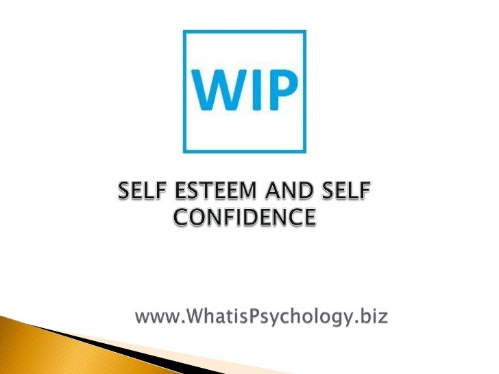 Self esteem refers to a positive overall evaluation of oneself – a feeling that one iscompetent to cope with life's challe...